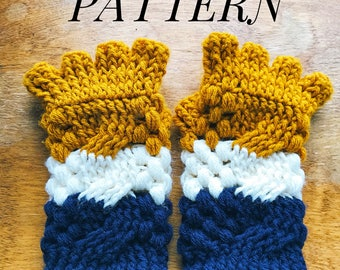 Half the fingers gloves PATTERN, Crochet gloves pattern, texting gloves, wrist warmers, winter accessories, crochet