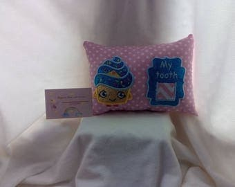 Tooth fairy pillow shopkins inspired