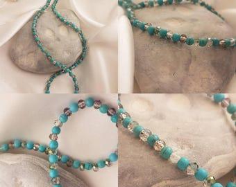 Fine turquoise gemstone necklace