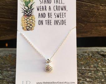 Custom Listing for Littleshutterbug: Gold Pineapple Necklaces