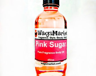 Pink Sugar, 1oz Glass Bottle, Pure Fragrance/Perfume Oil