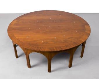 T.H. Robsjohn Gibbings Constellation Coffee Table by John Widdicomb - Mid Century Modern