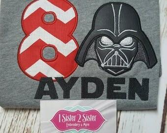 The Dark Warrior shirt - Darth - Star - Vader - Wars