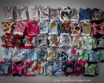 Blouse ,Sweatshirt , oversize ;) Pullip, Tangkou and similar dolls...