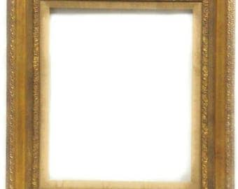 20th c Newcomb Macklin Gold Gilt on Eood Gesso Vintage Picture Frame