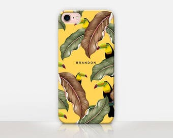 Personalized Toucan Phone Case For-iPhone 7 Case-iPhone 7 Plus Case - iPhone SE Case - Samsung S7 Case - iPhone 6S - Tough Case - Matte Case