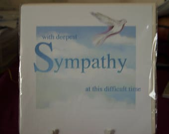 With Deepest Sympathy at this Difficult Time Card