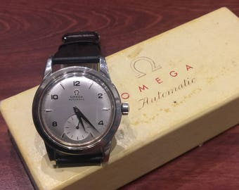 Omega ref 2576-1 Bumper Caliber 342 Automatic Gents' Wristwatch, circa 1950's.