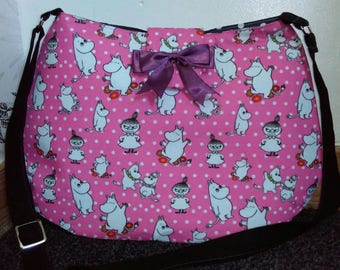 Moomins pink handbag