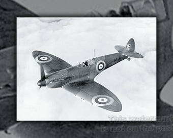 Poster, Many Sizes Available; Supermarine Spitfire P2