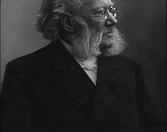 40% OFF SALE Poster, Many Sizes Available; Henrik Ibsen By Gustav Borgen Nfb 19778