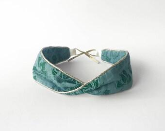 Wow x Little PASSAR green headband