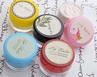 Gypsy Balm- Natural Beeswax & Shea Butter Lip Balm (Free Shipping)