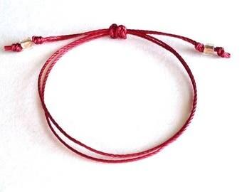Buddha bracelet,simple bracelet,yoga bracelet,cord bracelet,minimalist bracelet,kabbalah,mens string bracelet,knot bracelet,couple bracelet