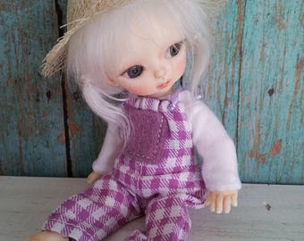BJD Doll Outfit  / Top And Pants In Set / Small  BJD Dolls / Hujoo Baby Suve