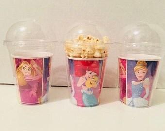 Disney Princess Themed Popcorn Cups