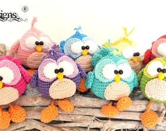 little birds, crochet pattern by mala designs ®