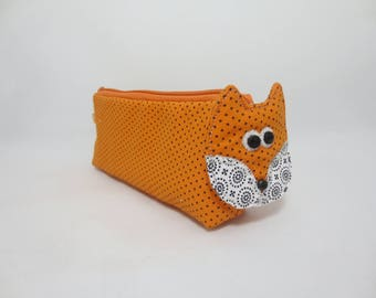 Kit Fox - school, office, pencils or glasses case