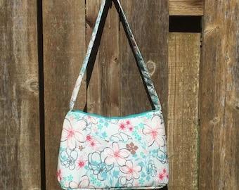 Pastel Floral Handbag