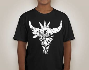 Youth Painted Buffalo Tshirt