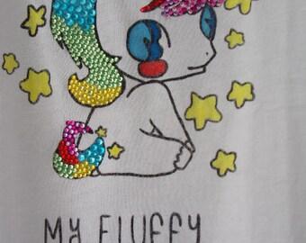 My fluffy UNICORN