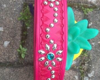 one off custom studded belt   Size is Open