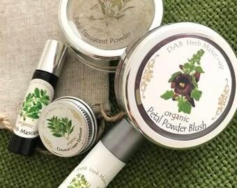 Organic Make-up Set, TRENDING! Vegan, Makeup Detox, Non-Mineral Makeup,  Green Beauty Make-up Set, Cosmetic Detox, Cosmetic Gift Set
