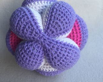 Amigurumi Amish kids puzzle ball crochet toy