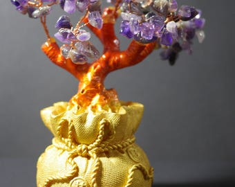 Money Tree | Feng Shui Tree | Lucky Tree | Fortune Tree | Amethyst