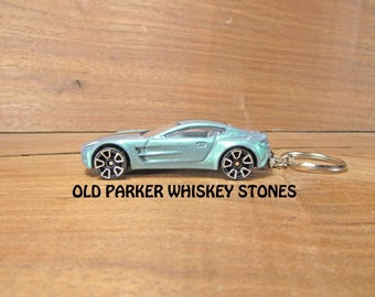 Hot Wheels Aston Martin One-77. Aston Martin Keychain. Hot Wheels Keychain.