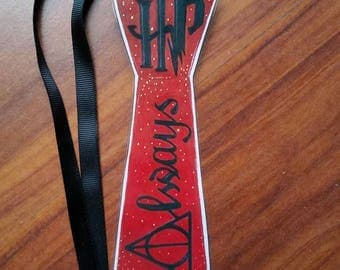 Harry Potter Bookmarks handdrawn design laminated