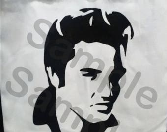 3 piece Elvis collection PNG and SVG, Cuting Files For Cricut Design Space Silhouette Studio. Print, cut, Iron on or Vinyl Decal