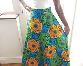 Alice wrap over long skirt