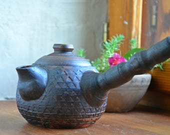 Ceramic Teapot, Stoneware Tea Pot, Clay Pottery Tea maker