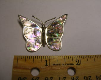 Sterling Abalone Butterfly(869)