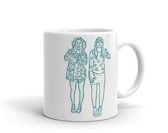 Broad City Abbi & Ilana - Mug