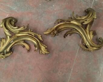 Original Cast Iron Ornament early '900