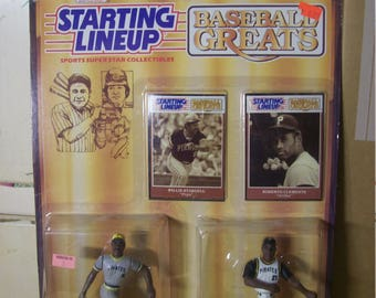 1989 Kenner Starting Lineup Figures and Cards