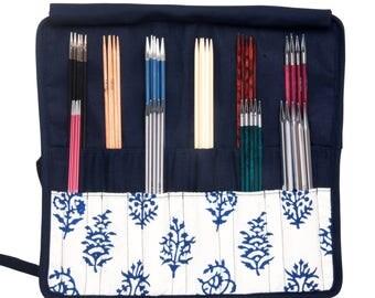 Knitpro knitting needle case, double pointed knitting needle holder, DPNs case.