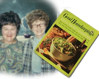 Good Housekeeping's Soups/Salads/Sandwiches Recipe Book, 1971 edition with full color photos