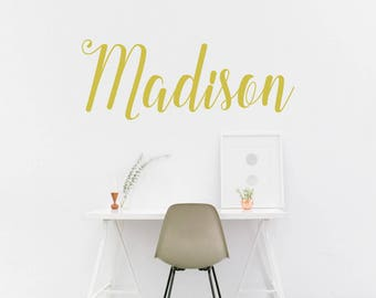 baby name wall decal, customized name decal, personalized names, nursery wall decal