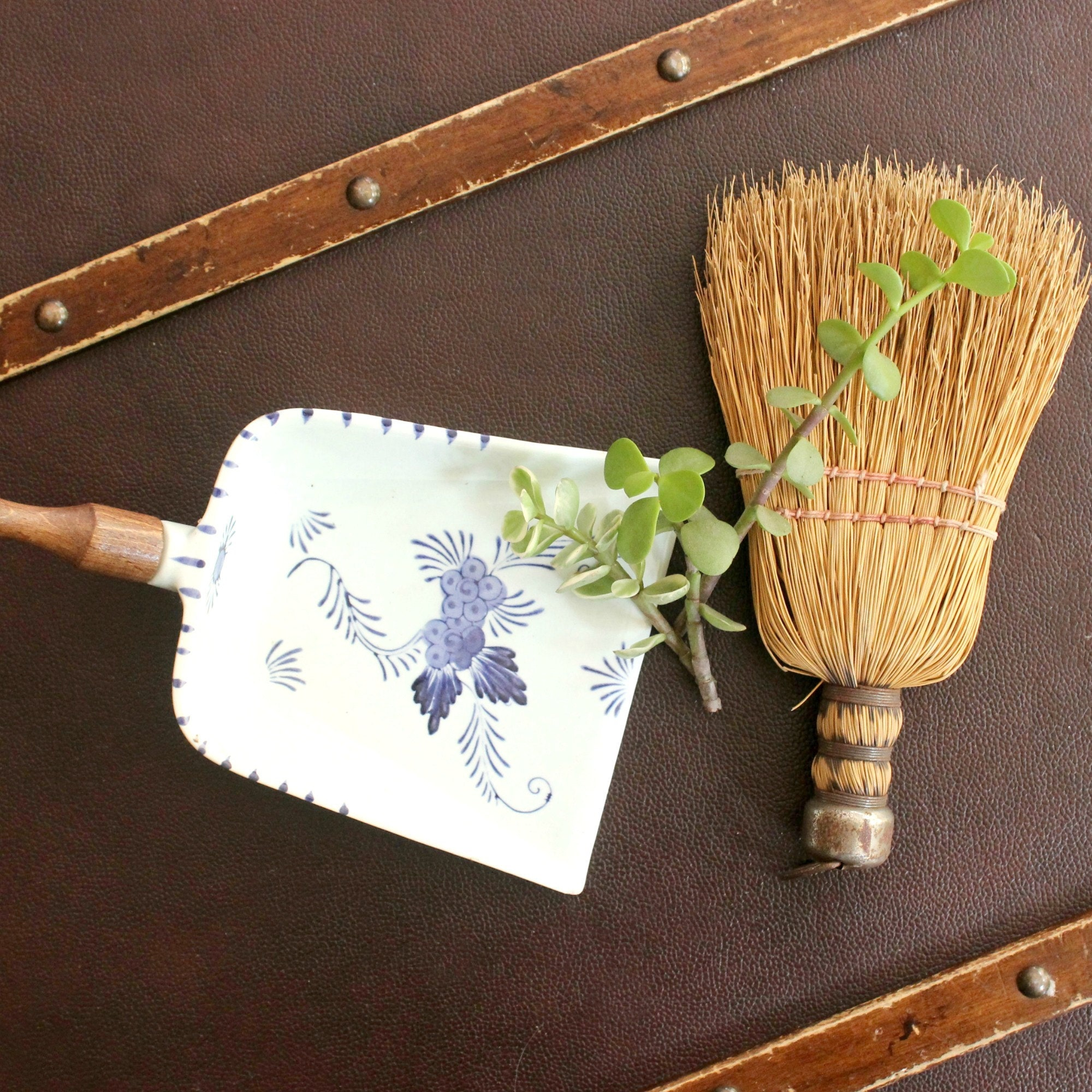 vintage broom collection
