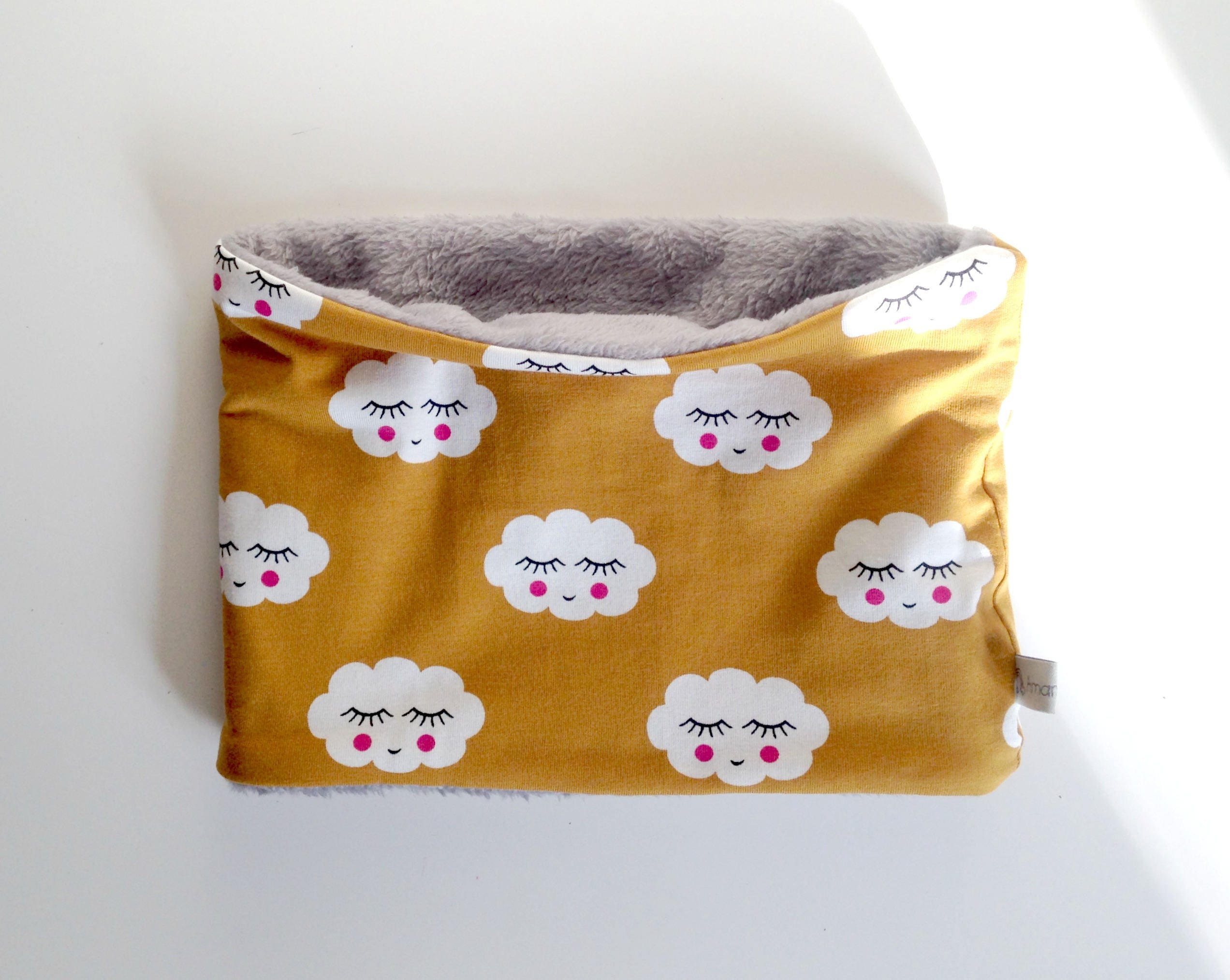 snood charpe tube b b gar on 12 mois 3ans jaune moutarde. Black Bedroom Furniture Sets. Home Design Ideas