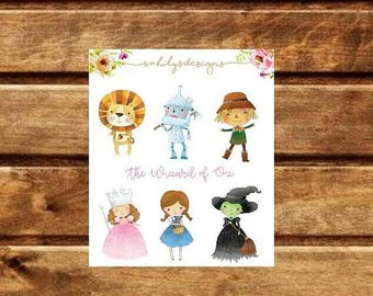 50% OFF Wizard of Oz Stickers