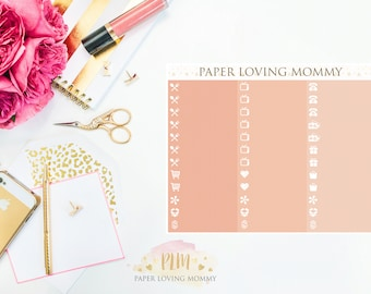May Label Stickers | Planner Stickers designed for use with the Erin Condren Life Planner