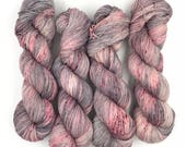 Hand dyed yarn - 4 ply (Fingering) - Tainted Princess