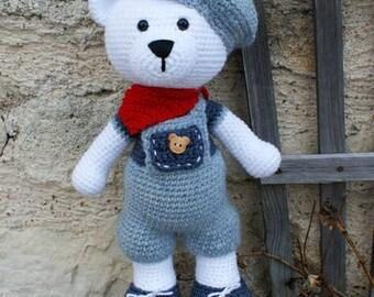 Gaston, le petit ours, tutoriel en français (anglais et néerlandais sur demande)