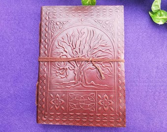 Tree of Life Paper Journal | Book of Shadows | Grimoire | Metaphysical Tools | Wiccan Supplies | Psychic Reading | Metaphysical | Wicca |