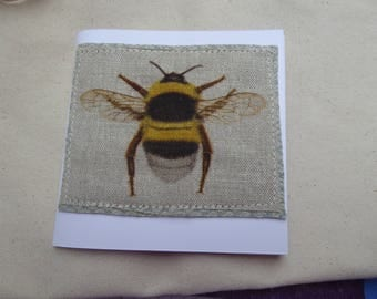 Bumble Greetings card