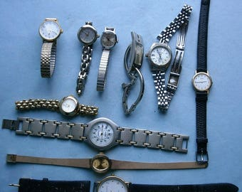 Vintage Ladies and Men's Wristwatches